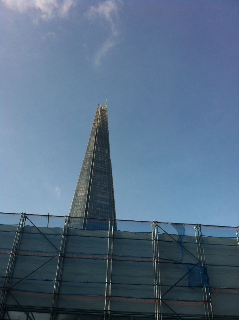 The Shard from a less flattering angle.