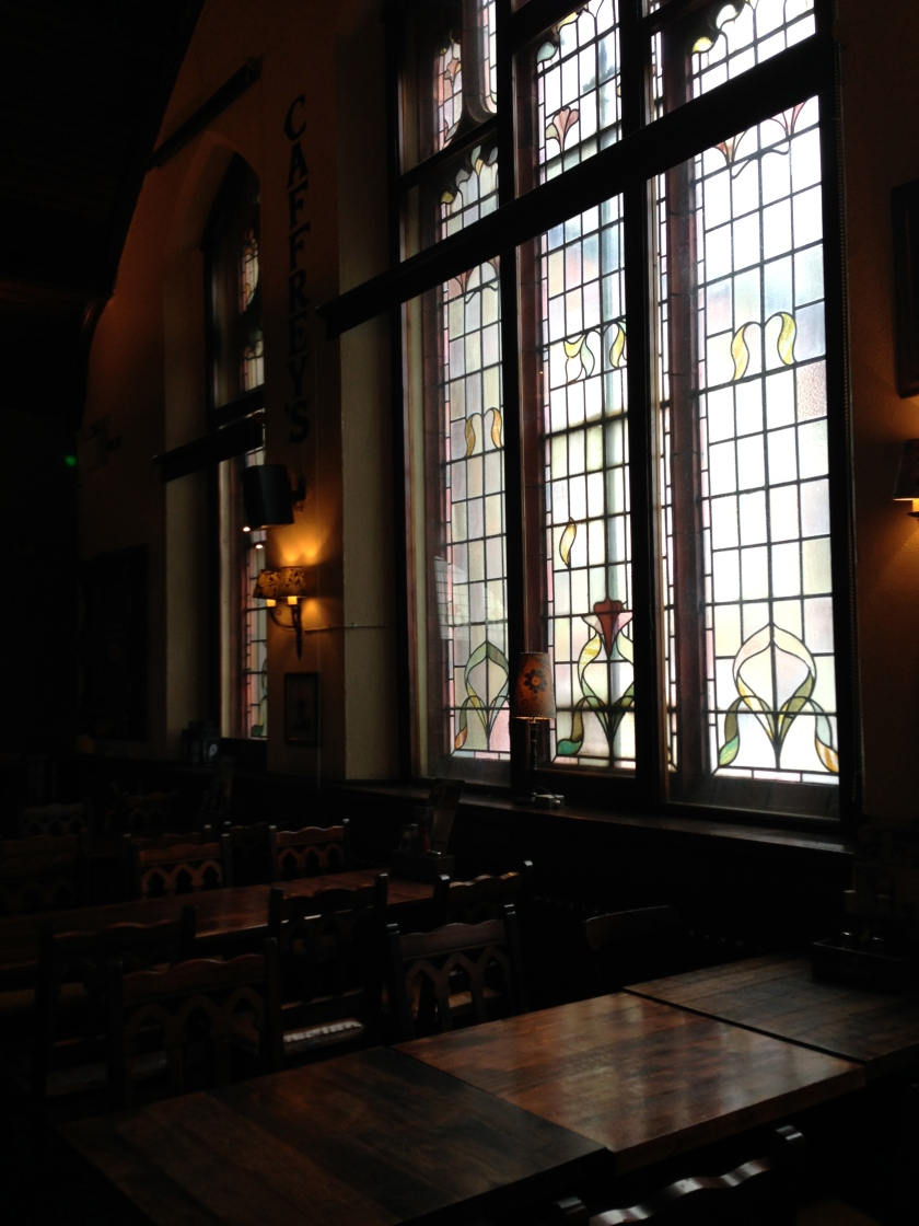 The Church pub in Muswell Hill. Probably not somewhere you can truly relax but a great looking place nonetheless.