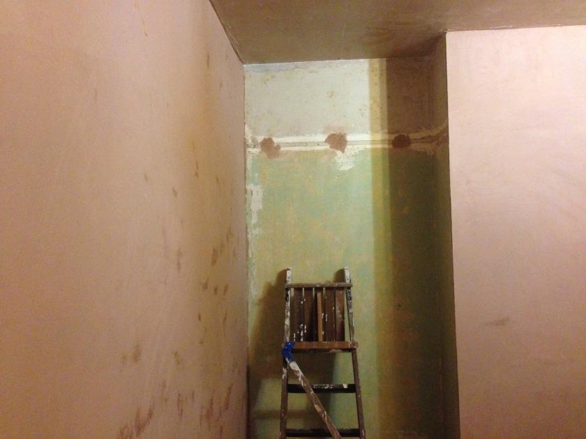 Hello plastered walls.