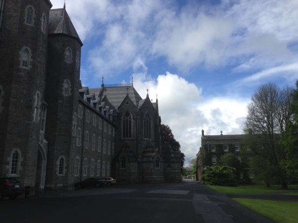 St Patrick's College in Maynooth. Very grand . Lots of ivy everywhere.