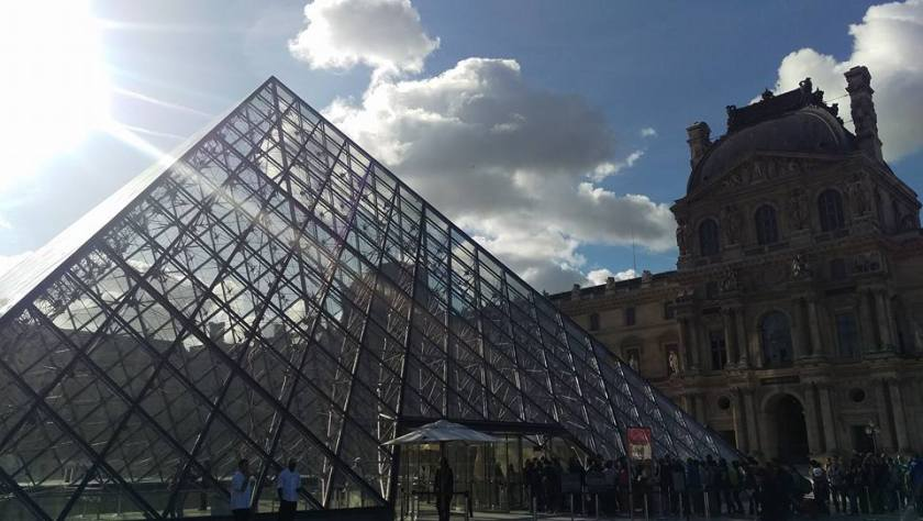 The Louvre - my surprise favourite of the trip.  We didn't have time to go in unfortunately but if you get the chance, it is worth spending an entire day! You will not be bored.